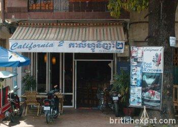 California Cafe 2 in Phnom Penh, Cambodia